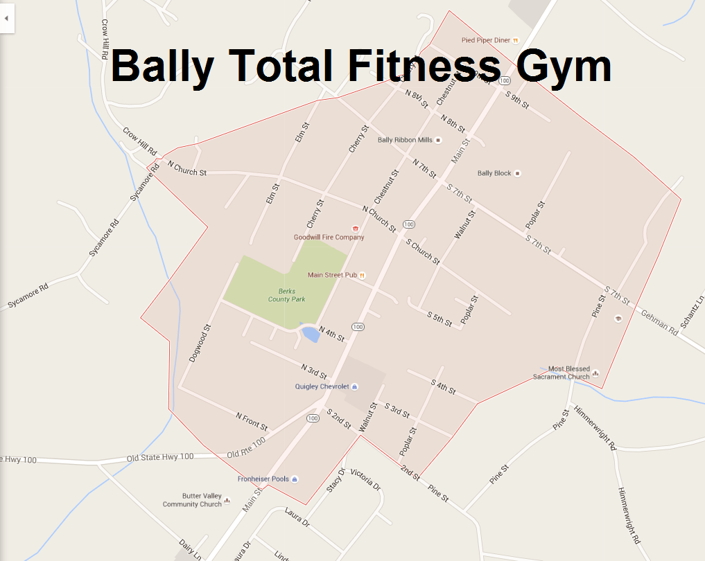 bally total fitness gym contact